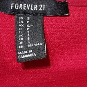 Forever21 super cute red dress